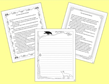 Aesop's Fables - Reading and Writing Interactive Notebook
