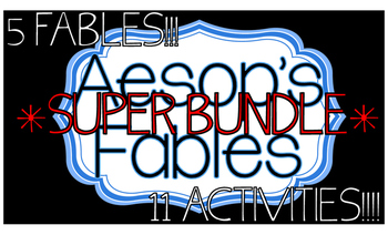 Aesop's Fables SUPER BUNDLE