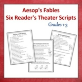 Aesop's Fables: Six Readers' Theater Scripts