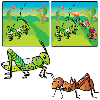 Aesop's Fables - The Grasshopper and the Ant