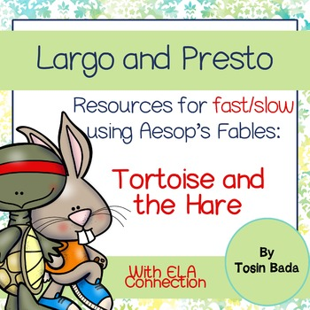 Aesop's Fables: Tortoise and the Hare {Fast and Slow}