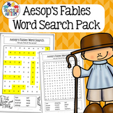 Aesop's Fables Word Search Activity