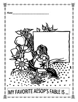Aesop's Fables - Word Search- Celebrating June 4th Aesop's Birthday