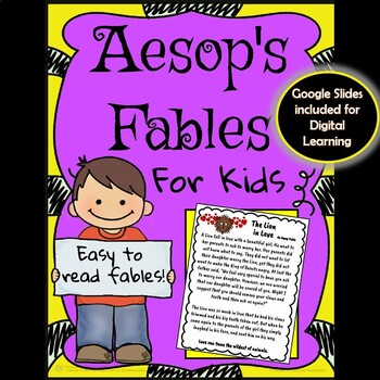 Aesop's Fables for Kids