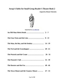 Aesop's Fables for Small Group Reader's Theater - Book 2