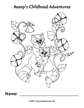 Aesops Childhood Adventures Coloring Pages