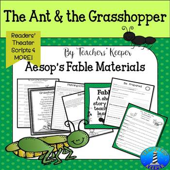 Aesop's Fable The Ant & the Grasshopper