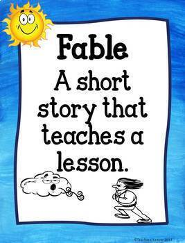 Aesop's Fable The Sun & the Wind