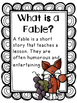 Aesop's Fables - An Intermediate CCSS Alligned Comprehension Unit
