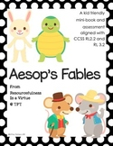 Aesop's Fables Book & Assessment