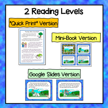Aesop's Fables Bundle- Texts and Activities Included (Common Core Standards)