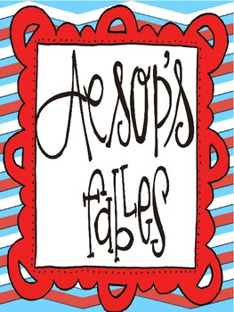 Aesop's Fables: Character Traits