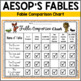 Aesop's Fables ~ Graphic Organizers for 6 Different Fables