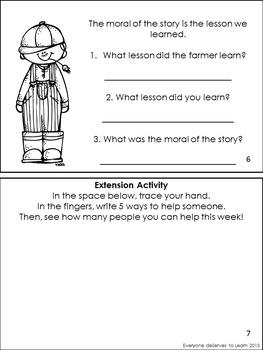 Aesop's Fables Literacy Unit