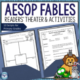 Aesop's Fables Readers' Theater Activities Set 1 - Bundle