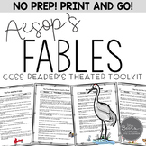 FABLES: Aesop's Fables Reader's Theaters for Grades 4-8 Common Core Aligned