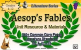 Aesop's Fables Unit Resources Teaching Moral and Theme Common Core