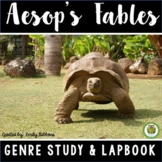Lap Book: Aesop's Fables | Activities Graphic Organizers R