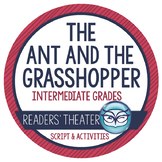 Aesop's Fables for Big Kids - The Ant and the Grasshopper (Close Reading,too!)