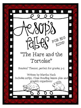 Aesop's Fables for Big Kids - The Hare and the Tortoise (Close Reading, too)
