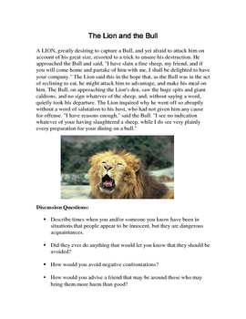 Aesop's Fables for Character Education Part 2