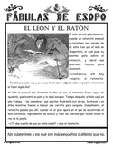 Aesop's Fables in Spanish Fábulas de Esopo