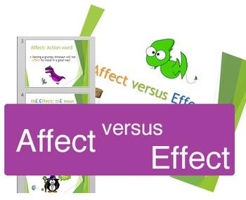 Affect vrs Effect visuals