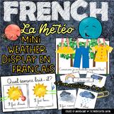 Affichage De La Météo |  Weather Display | French Immersion