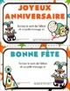 Affichage des Anniversaires: Les Chapeaux de Fête