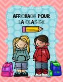 Affichage pour la classe (divers)