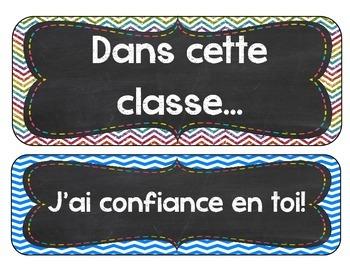 Affiche: Dans cette classe