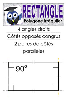 Affiche - Le rectangle