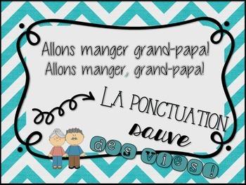 Affiche - Ponctuation