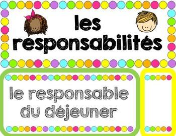 Affiche Responsabilités Modifiable