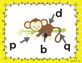 Affiche - b, d, p, q