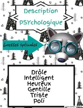 Affiche-caractéristiques psychologiques