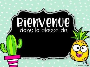 Remarquable Affiche de porte de classe by Atelier Aplus | Teachers Pay Teachers YT-58