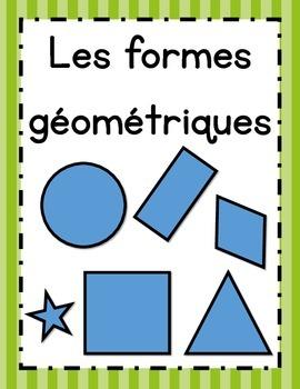 Affiches des formes géométriques en français (Shape Posters in French)