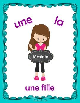 Affiche - féminin