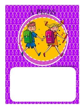 Affiches (4) de départ  des élèves en fin de journée