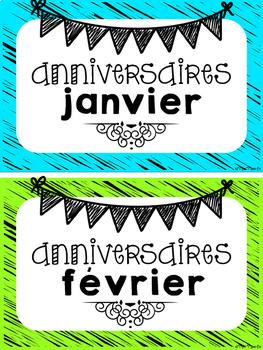 Affiches - Anniversaires (Birthday)