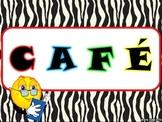 Affiches: CAFÉ 5 au quotidien