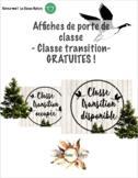 Affiches ''Classe de Transition''
