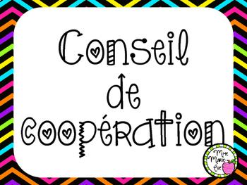 Affiches - Conseil de coopération