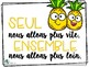 Affiches Émoji - Cactus - Ananas