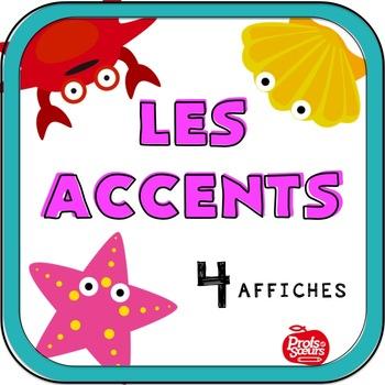 Affiches: Les accents français