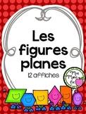 Affiches - Les figures planes (2D Shapes)