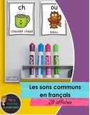 Les sons - Affiches des sons communs (Classroom Posters of Common French Sounds)