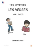 Affiches: Les verbes, volume 3, French immersion (#202)