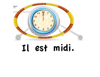 Affiches - Quelle heure est-il?